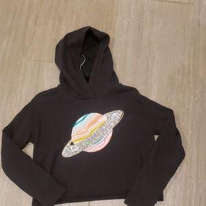 Gap cropped hoodie